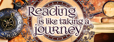 Reading is like taking a journey