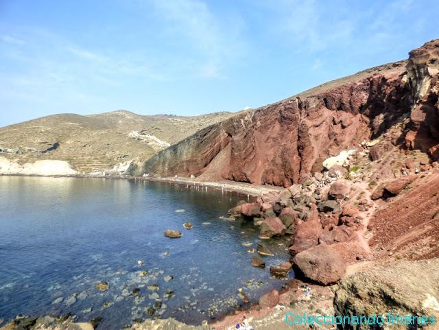 mejor playa de Santorini