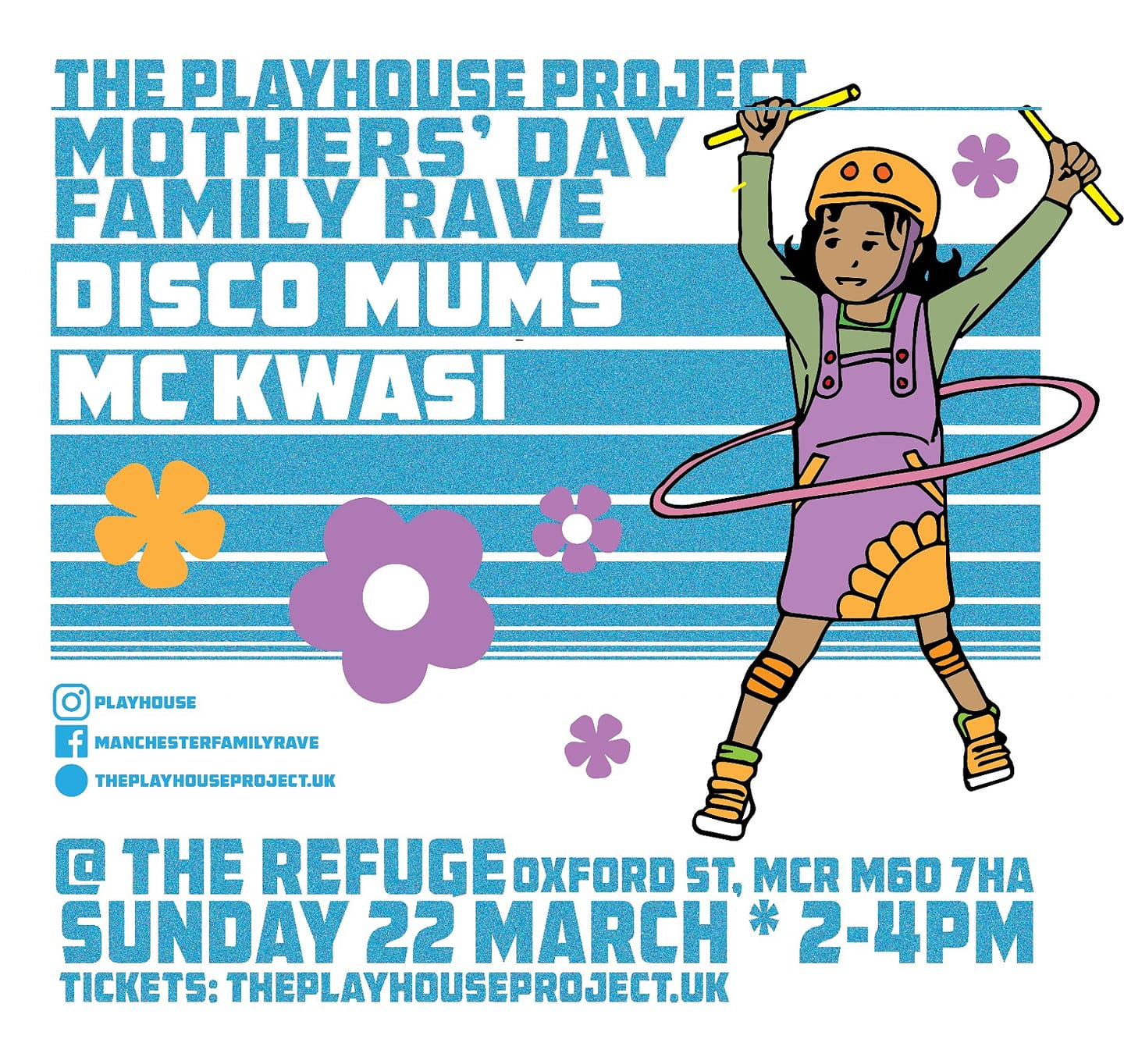 Mothers Day Family Rave with Disco Mums & MC Kwasi - The Refuge