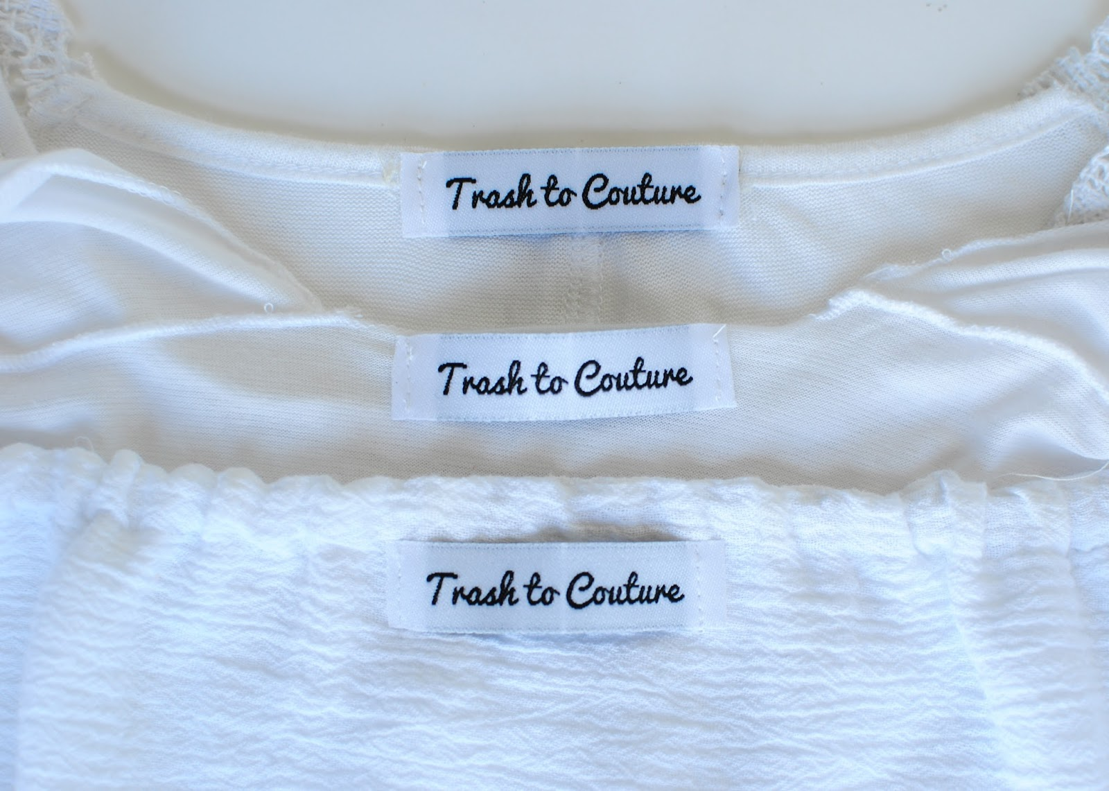 trash to couture design your own clothing labels with
