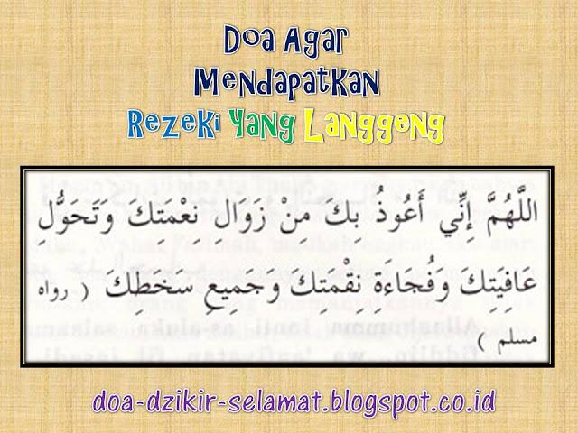 Doa Agar Mendapatkan Rezeki Yang Langgeng