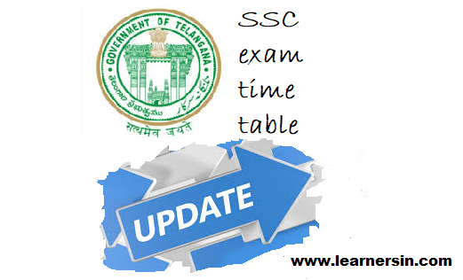 TS SSC exam time table 2020 Updated. Telangana SSC Updated exam dates 2020