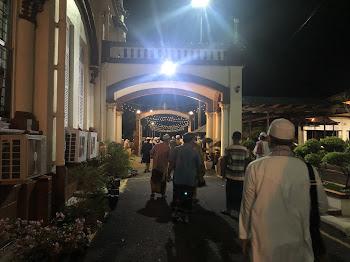 Tarawih di musim PKP di Kelantan.
