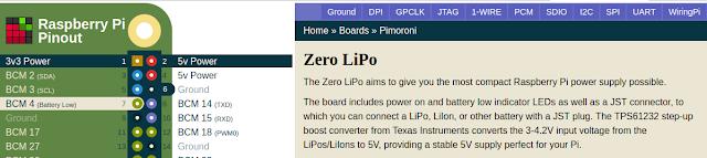ZeroLiPo Raspberry Pi