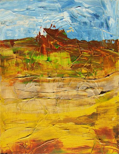 expressionistisch landschap