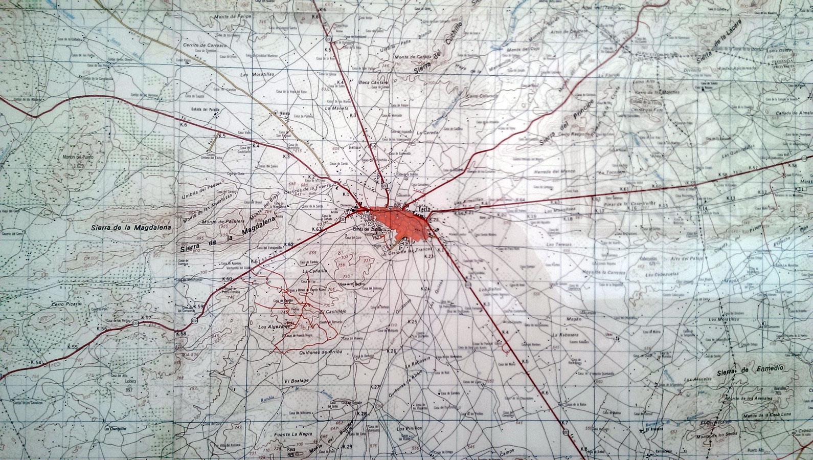 Yecla, mapa y yo