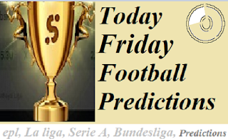 Today Free Football Betting Tips, Predictions and Odds