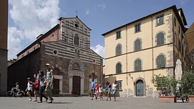 Piazza San Giusto em Lucca