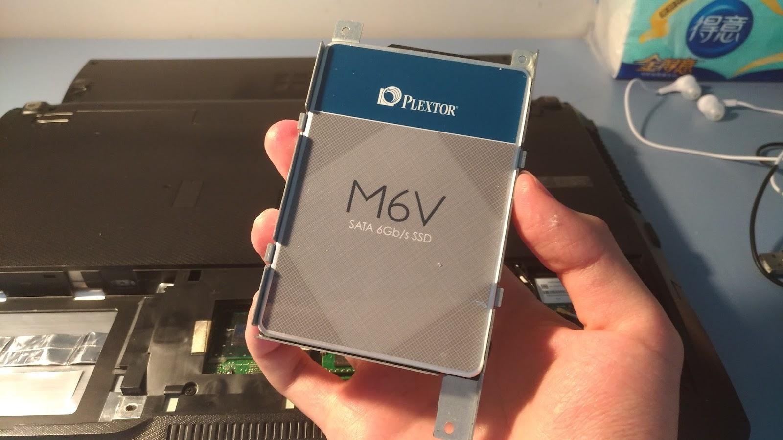 P 20170322 193919 vHDR On - Plextor M6V 256G SSD 開箱評測 & Asus K55VD 拆機升級雙硬碟教學