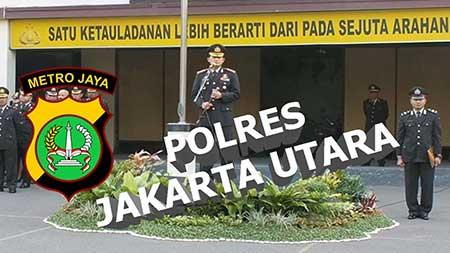 Alamat & Nomor Telepon Polres Metro Jakarta Utara