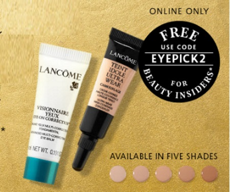 Canadian Daily Deals: Sephora Free Lancome Visionnaire Eye Cream ...