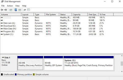 Cara Format Harddisk di Windows 7,8,10