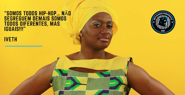 T(Rap) | A mc moçambicana Iveth fala para não segregarem o rap, afinal somos todos Hip Hop em som novo