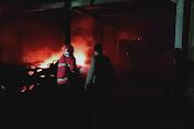 Tempat Penggilingan Padi di Kaligondang Terbakar