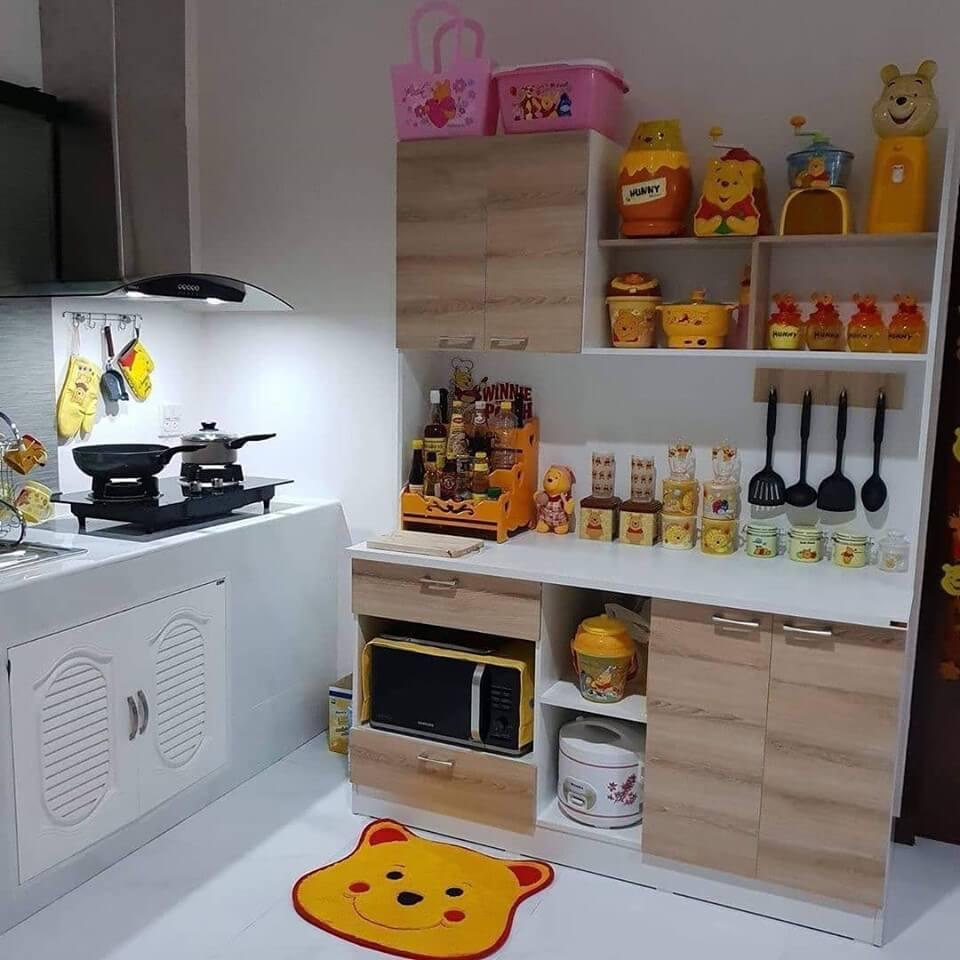 Desain Dapur Unik Minimalis untuk Rumah Kecil dan Sederhana