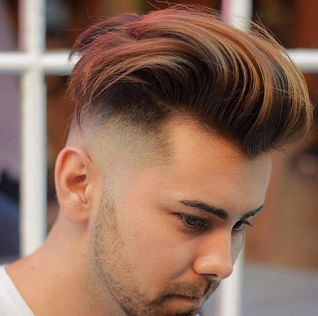 High Fade with Textured Quiff