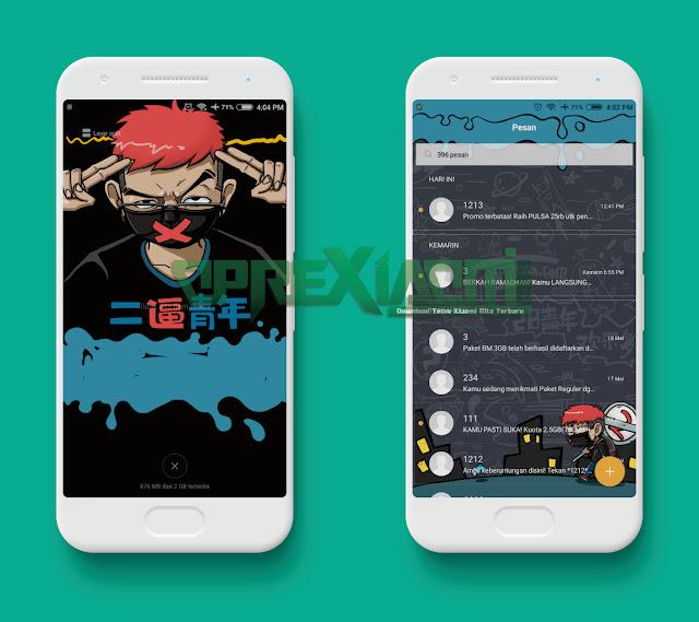 Download Tema Fun To Youth Mtz Terbaru Mod