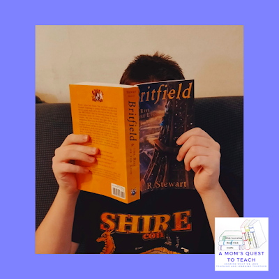 A Mom's Quest to Teach - Book Club: Book Review of Britfield & the Rise of the Lion; teen reading book