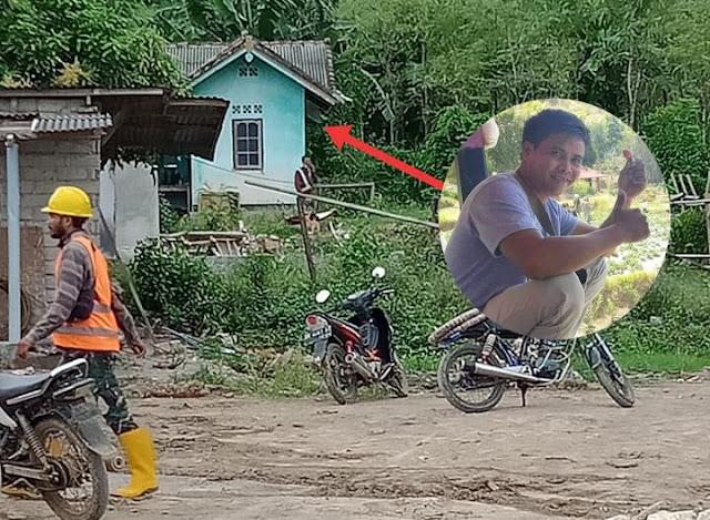 Depresi! Seorang Pria di Songgong Desa Sukadana Lombok Tengah Gantung Diri