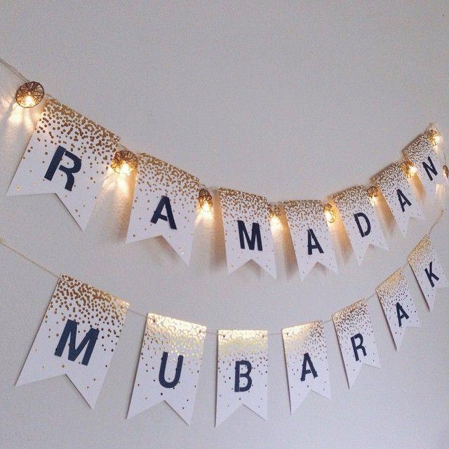 Dekorasi Ramadhan Tulisan Ramadhan Mubarak