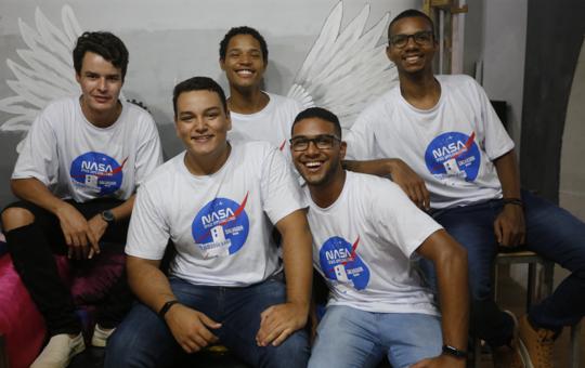 Baianos premiados pela Nasa superaram 83 países: 'Não esperávamos'
