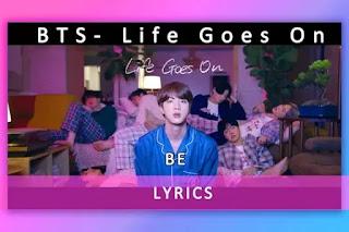 방탄소년단, Life Goes On korean song Lyrics and karaoke by BTS