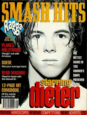 Smash Hits - Dieter Brummer Cover - May 1993