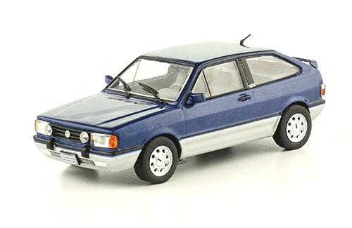 volkswagen Gol GTi 1989 1:43, volkswagen collection, colección volkswagen méxico