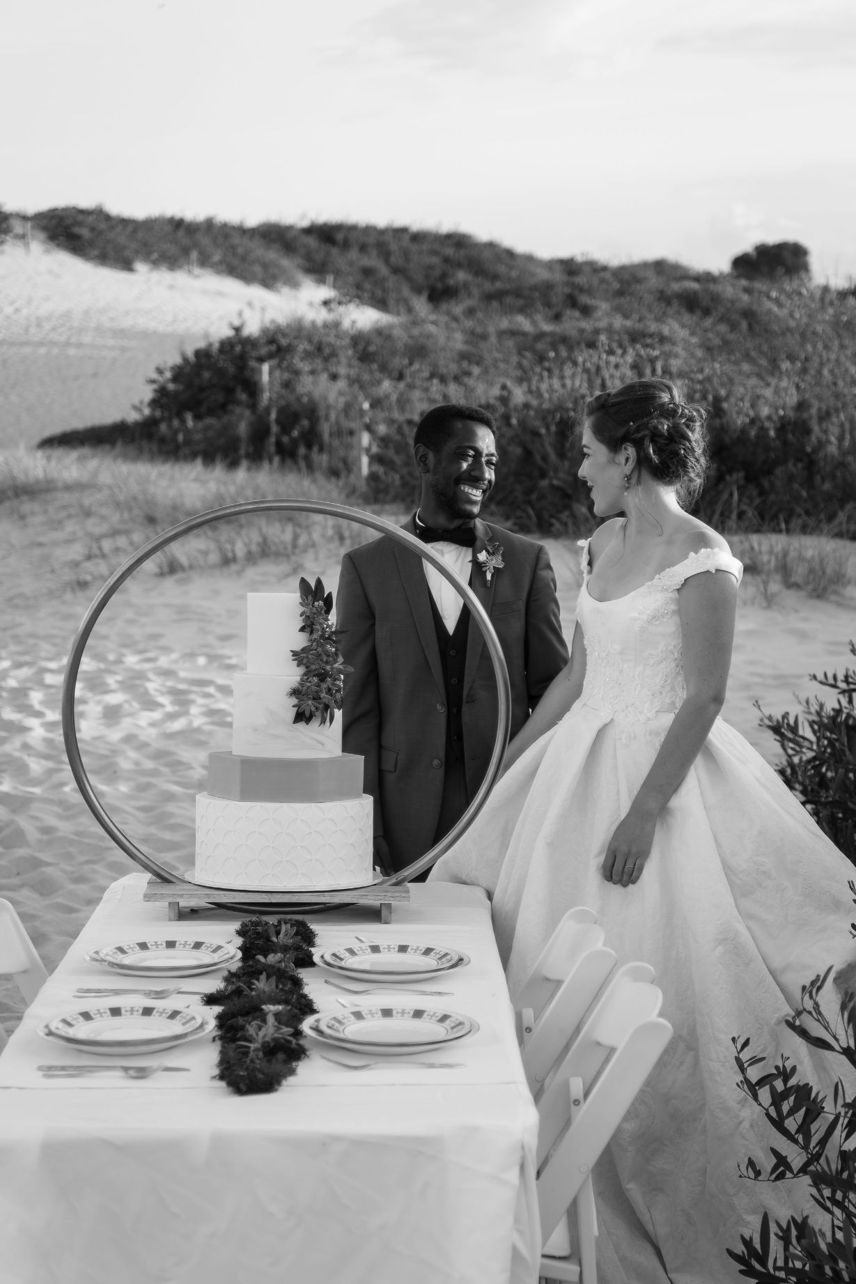 STYLED: GREENHILLS SANDS DUNES CEREMONY INSPIRATION   NSW