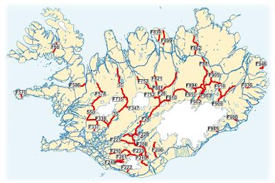 ¿Cuándo abren las carreteras de montaña de Islandia?