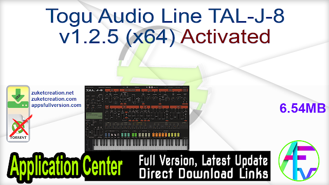 Togu Audio Line TAL-J-8 v1.2.5 (x64) Activated