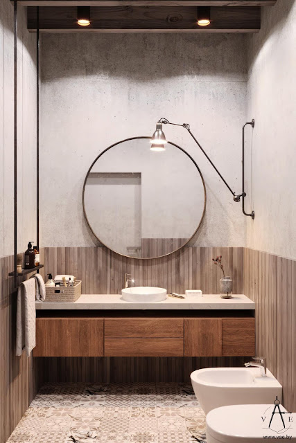 Couple Bathroom Design