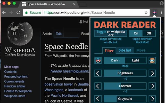 Dark Reader: Ekstensi Mode Gelap Terbaik untuk Chrome