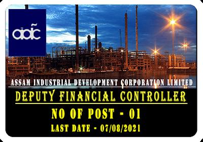 AIDC Deputy Financial Controller Recruitment 2021
