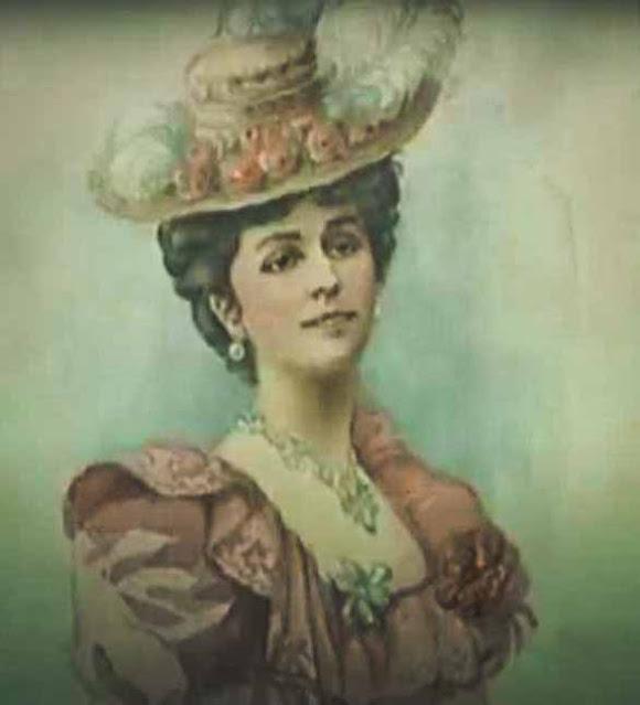 retrato em desenho de Matilda Kschessinska
