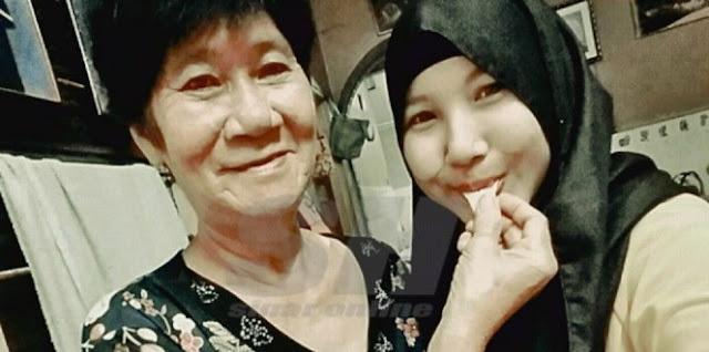 MASYA ALLAH.. Tiru Rasul, Nenek Non Muslim Ini Rawat Cucunya Yang Islam