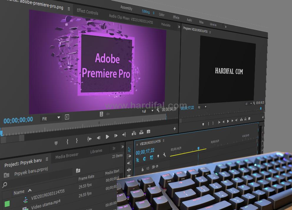 Shortcut adobe premiere pro cc