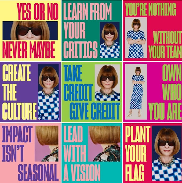 Anna Wintour, Editor-in-chiefnya Vogue.