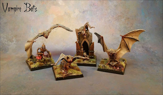 Vampire Counts Fell Bats - Alternative Models