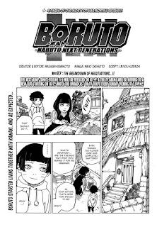 Read Boruto Manga Chapter 27 Full English