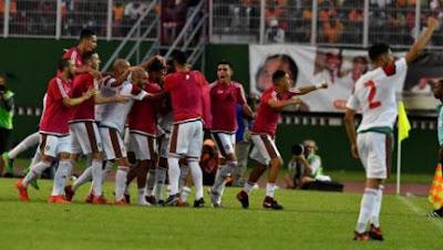 Maroko Akhirnya Lolos ke Piala Dunia 2018
