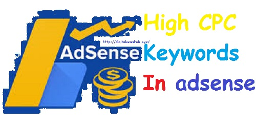 Today High CPC Keywords In ads (adsense)