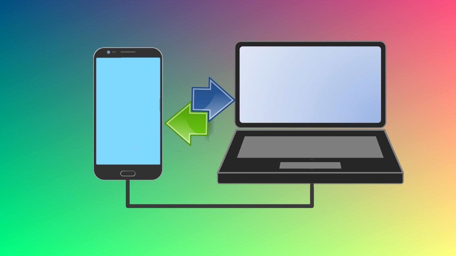 Transfer file dari hp ke laptop paling mudah