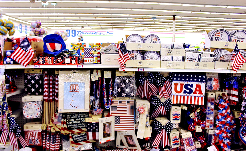 4th of July Ideas For Dollars- #99YourFourth #DoingThe99 #AD