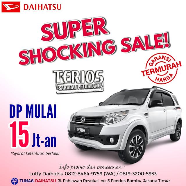 Promo Daihatsu Terios Dp Murah Mulai 15 Jutaan