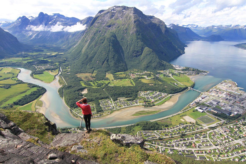 Хребет Румсдалсэгген в Норвегии