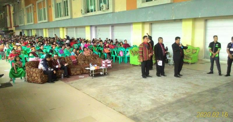 Pesta Bona Taon Raja Toga Sirat Se-Batam Dihadiri Pengurus Sedunia
