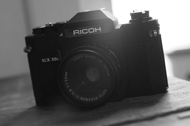 Ricoh SLX 500 +  Auto Rikenon 50mm F/2.8