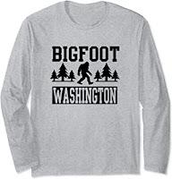 Washington Bigfoot Shirts