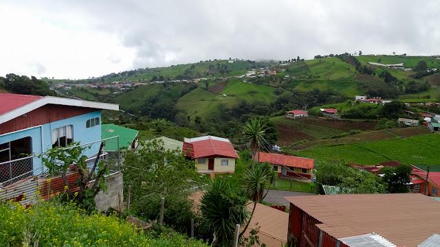 Landscape towards La Fortuna